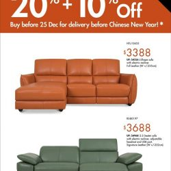 [Sofa Outlet] Looking for new sofa to be delivered before Chinese New Year?