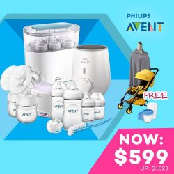 [Isetan] Bring a little joy and happiness with these festive best buys from Philips Avent, Puku and Graco available at Isetan