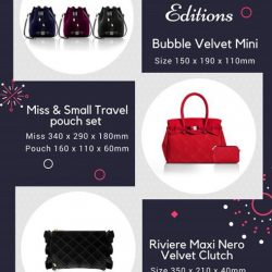 [Save My Bag] Christmas Limited Edition items now available in store!