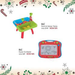 [Mothercare] The 3-year-old on your holiday list is ready to explore with all of their senses!