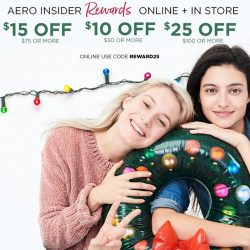 [Aeropostale] Insider rewards weekend is here!