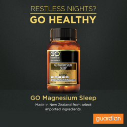 [Guardian] If you need some extra support getting to sleep and staying asleep, GO MAGNESIUM SLEEP could be just the thing.