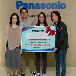 "[Panasonic] Congratulations to our 3 lucky winners of ""My Air Conditioner is Free"" lucky draw."