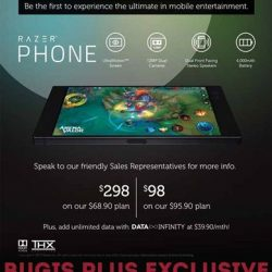 [TOG] Exclusive to TOG Members, receive $30 OFF Razer Phone on any Singtel Combo Mobile plans!