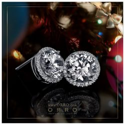 [ORRO Jewellery] Christmas Gifts from ORRO…Earrings set with jewels that sparkle with sheer brilliance - As gifts provide that subtlety and sweetness