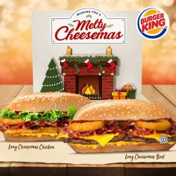 [Burger King Singapore] Christmas-time is here– lots of presents and cheer… especially with $20 Burger King Vouchers!