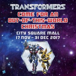 [Babies'R'Us] Come for an Out-of-this-World Christmas at City Square Mall to witness Singapore's first ever Transformers 'LIVE'