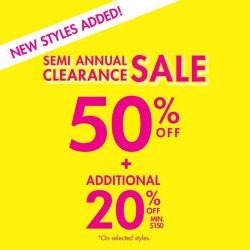 [La Senza Singapore] Gorgeous NEW STYLES now added to our SEXIEST SALE EVER!