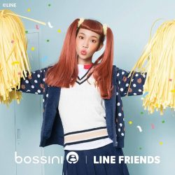 [Bossini Singapore] The new bossinixlinefriends collection offers stylish and comfy numbers featuring Brown and Cony.