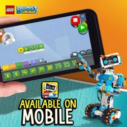 [LEGO] Next level of play and code initiated  The LEGO BOOST App is now available for selected iOS and Android MOBILE