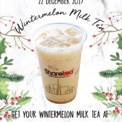 [Sharetea Singapore (歇脚亭)] 3 Days to Christmas!