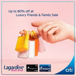 [Citibank ATM] Mark your calendar for a shopping spree at the Luxury Friends & Family Sale!