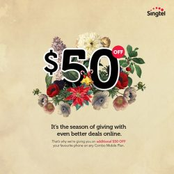 [Singtel] It's the season of giving with even better deals online.