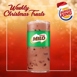 [Burger King Singapore] It's just 1 week to Christmas!