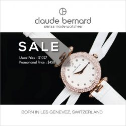 [Claude Bernard] Check out our sale of Claude Bernard watches now, if you do not want to miss out on good deals!