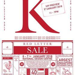 [Ling Wu] Keepers Red Letter Sale.