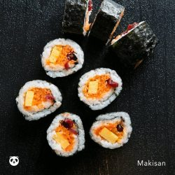 [foodpanda] Realise all your wild sushi dreams with Maki-San and get free delivery until 16 December!