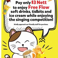 [Manekineko Karaoke Singapore] Friends, Family and Supporters to our Manekineko Star 2017 Finalists, you are invited to join us on 3rd December 2017,