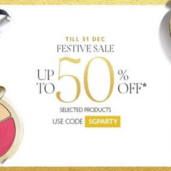 Sephora: Festive Sale with Up to 50% OFF Selected Beauty Products