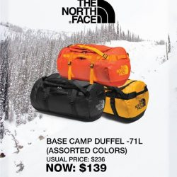 [The North Face] 3-DAYS FLASH SALE only at Westgate & 313@Somerset Stores!