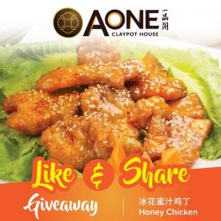 [A-One Claypot House] Great news for Instagram users, delicious Honey Chicken (U.