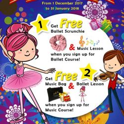 [The Ballet & Music Company] Exclusive at The Ballet & Music Company (NEX).