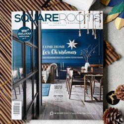 [Commune] Our popular modern vintage Bruno dining set is on the cover of this month's SquareRooms!