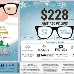 [Vision Lab] Get your FREE BLUE ZERO PC LENS at SGD$228 onwards with purchase of branded eye-wear frame from Mercedes-