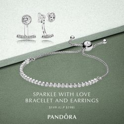 [Pandora Singapore] Let these online-exclusive winter themed PANDORA sets seal the deal this 12.