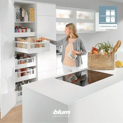 [Blum & Co] DYNAMIC SPACE for optimal workflow - Consumables ZoneThis is the zone that serves to store provisions used for cooking and