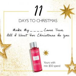 [L'Occitane] IT'S 11 DAYS TO  A PERFECT CHRISTMAS!