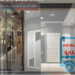 [BESGLAS SINGAPORE] Exclusively at IMM 03-28B, 9-10 December 2017 Moving Out Sale - Get 30% off your 2nd Door!