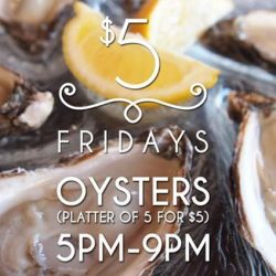 [The Beacon] Friday we are serving Aigue Marine Special Oyster!
