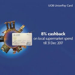 [UOB ATM] Get rewarded when you shop at local supermarkets!