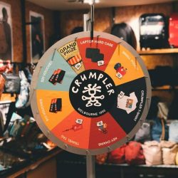 [Crumpler] Sure win Spin&Win exclusively at Wheelock Place store.