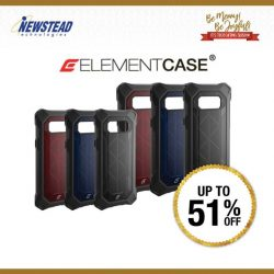 [Newstead Technologies] Get Element Case for your iphone 7 / 7 Plus / 8 / 8 Plus and Save Up to 51% this festive season.
