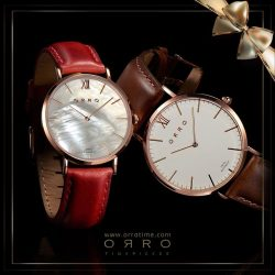 [ORRO Jewellery] Christmas Gifts for him & for her…★ SALE - TWO Watches at the Price of ONE!