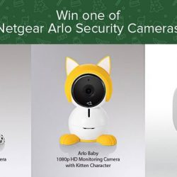 [ViewQwest] Stand a chance to win an adorable Netgear Arlo Security Camera in our lucky draw!