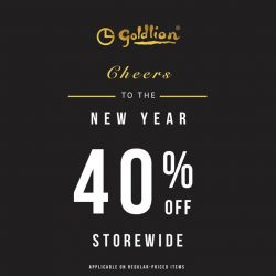 [Goldlion] Welcome the new year with new apparel & accessories!