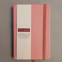 [Precious Thots] Simple yet sophisticated FI-KUH hardcover wood-free notebooks with garter band.