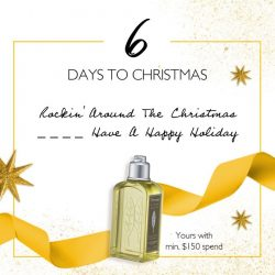 [L'Occitane] OMG, JUST 6 DAYS TO CHRISTMAS!