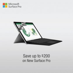 [Harvey Norman] Get your SurfacePro from HarveyNormanSG today and save up to $200.
