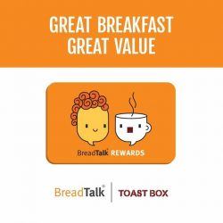 [BreadTalk® Singapore] Start 2018 on the right (and tasty) note!