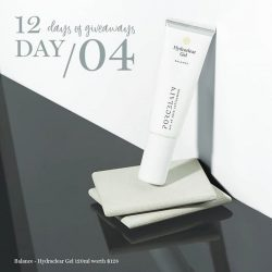 [Porcelain Aesthetics] And here we are, one third through our Porcelain 12 Days of Giveaways -- it's DAY 4!