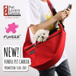 [Pet Lovers Centre Singapore] Super cute and convenient!