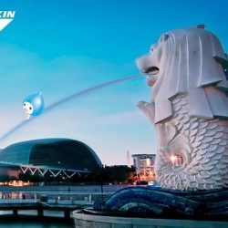 [Daikin Proshop PassionAir] Singapore national personification is the Merlion, made up of a lion's head and the body of a fish.