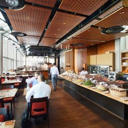 [LeVeL33] LeVeL33's Executive Set Lunch offers an extensive appetizer buffet; and for mains, choose from the regular 'Classics' such as