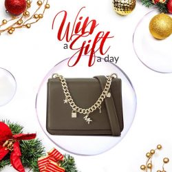 "[Reebonz] GLOBAL GIVEAWAY:CHRISTMAS CONFESSION - Overheard during tea break: ""I self-proclaim that I'm the Michael Kors girl!"