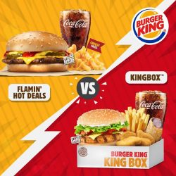 [Burger King Singapore] It's King Box™ VS Flamin' Hot Deals!