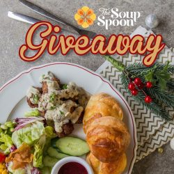 [The Soup Spoon] Christmas Giveaway 5 | We know you are loving The Soup Spoon Union's Christmas Menu this year!